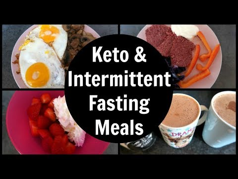 Keto and Intermittent Fasting Meals | What I Eat In A Day
