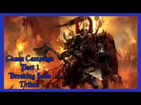 Gameplay with Ludus Infinium: Chaos Campaign 1: Breaking Some Tribes |
