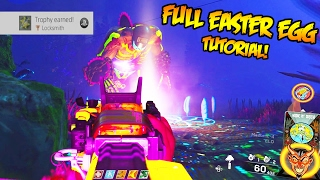 "ULTIMATE ""RAVE IN THE REDWOODS"" EASTER EGG TUTORIAL - EASY EASTER EGG GUIDE GAMEPLAY! (IW Zombies)"