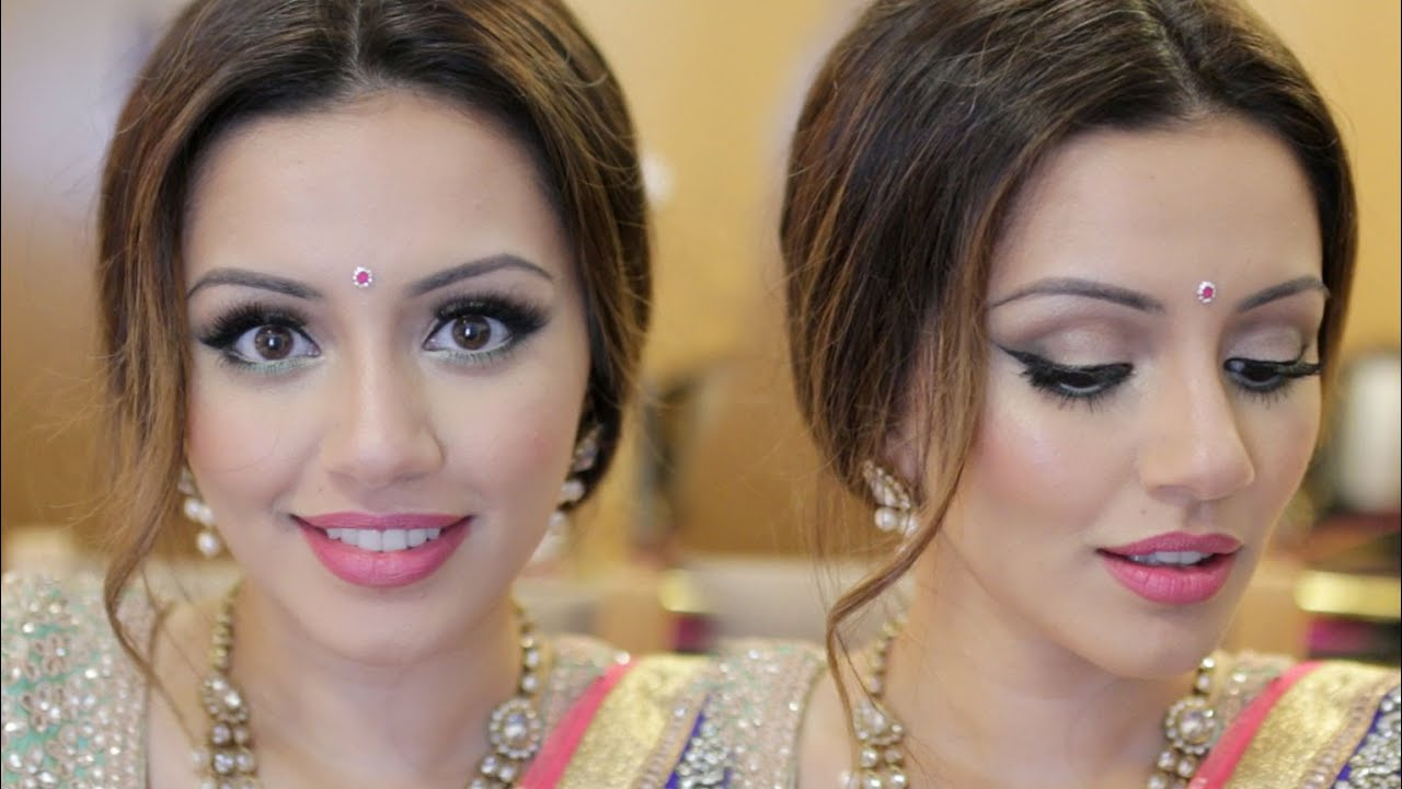 Indian Wedding Get Ready With Me Eid Makeup Look ...