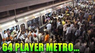 BF4 Squad Up - Winning 64 Player Rush Metro.. | Battlefield 4 Gameplay