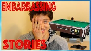 My Most Embarrassing Stories! The Time I Was Stuck In A Pool Table!