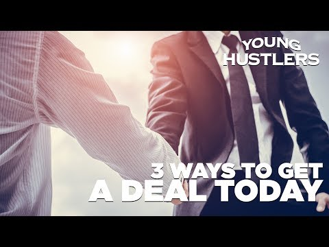 3 Ways to Close a Deal - Young Hustlers Live at 12PM EST