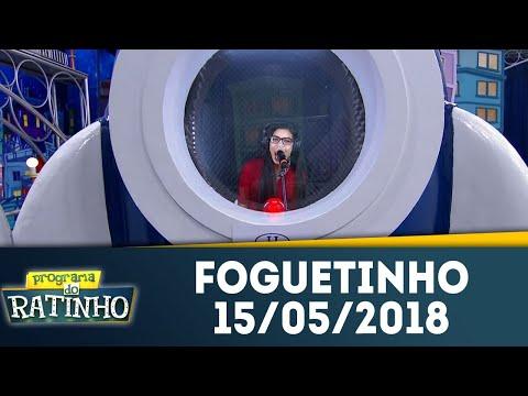 Foguetinho - Completo | Programa Do Ratinho (15/05/18)