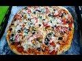 طريقة عمل البيتزا طريقة عمل بيتزا الدجاج والخضار فيديو من يوتيوب