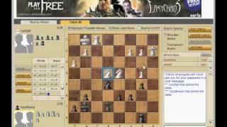 Yahoo Chess Game 3 8JUN09