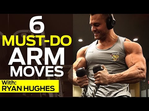 How To Get JACKED & SHREDDED Arms With 6 Must-Do Arm Exercises