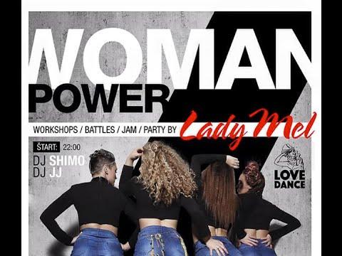 Woman Power Battle HipHop/House demo The Club Bratislava 6.6.2015