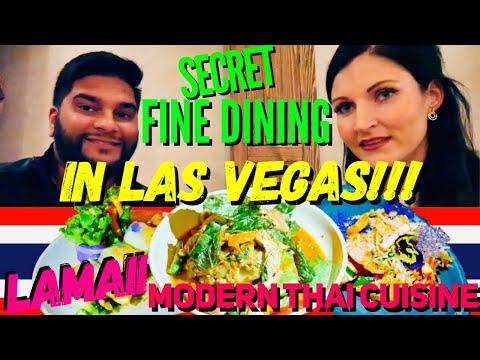 Secret & Affordable Fine Dining In Las Vegas: LAMAII Modern Thai Restaurant 2019
