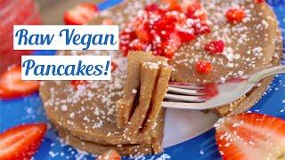 Best Raw Vegan Pancake Recipe! (gluten Free Pancakes!)