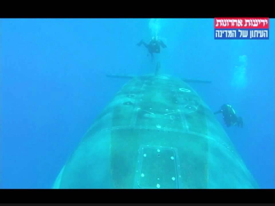ממעמקים: תיעוד ראשון מסוגו של צוללות חיל הים
