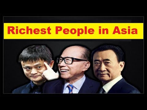 "Top 10 Richest People in Asia ""Top Ten Rich People"""
