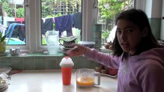 How To Make Orange Slush With A Hapi Momi