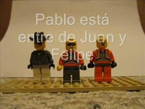 Las Adventuras de Legos- Prepositional Phrases
