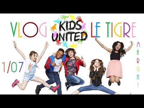 VLOG N°10 - Concert des Kids United au Tigre - Margny les Co