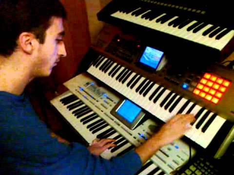 Armenian Keyboard - Roland Fantom X6 & Korg Pa2X Pro