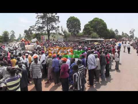 Ziara ya Raila Magharibi ya Kenya  Luanda