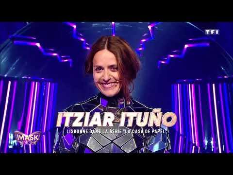 Mask Singer - Itziar Ituño (La Casa De Papel) - Révélation identité