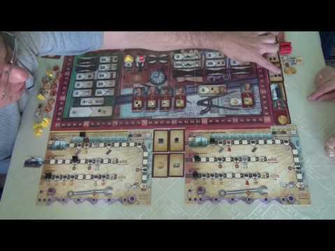 Русские железные дороги 1/1 играем в настольную игру, Board Game