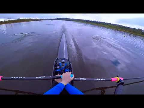 Single scull 2k - first person view
