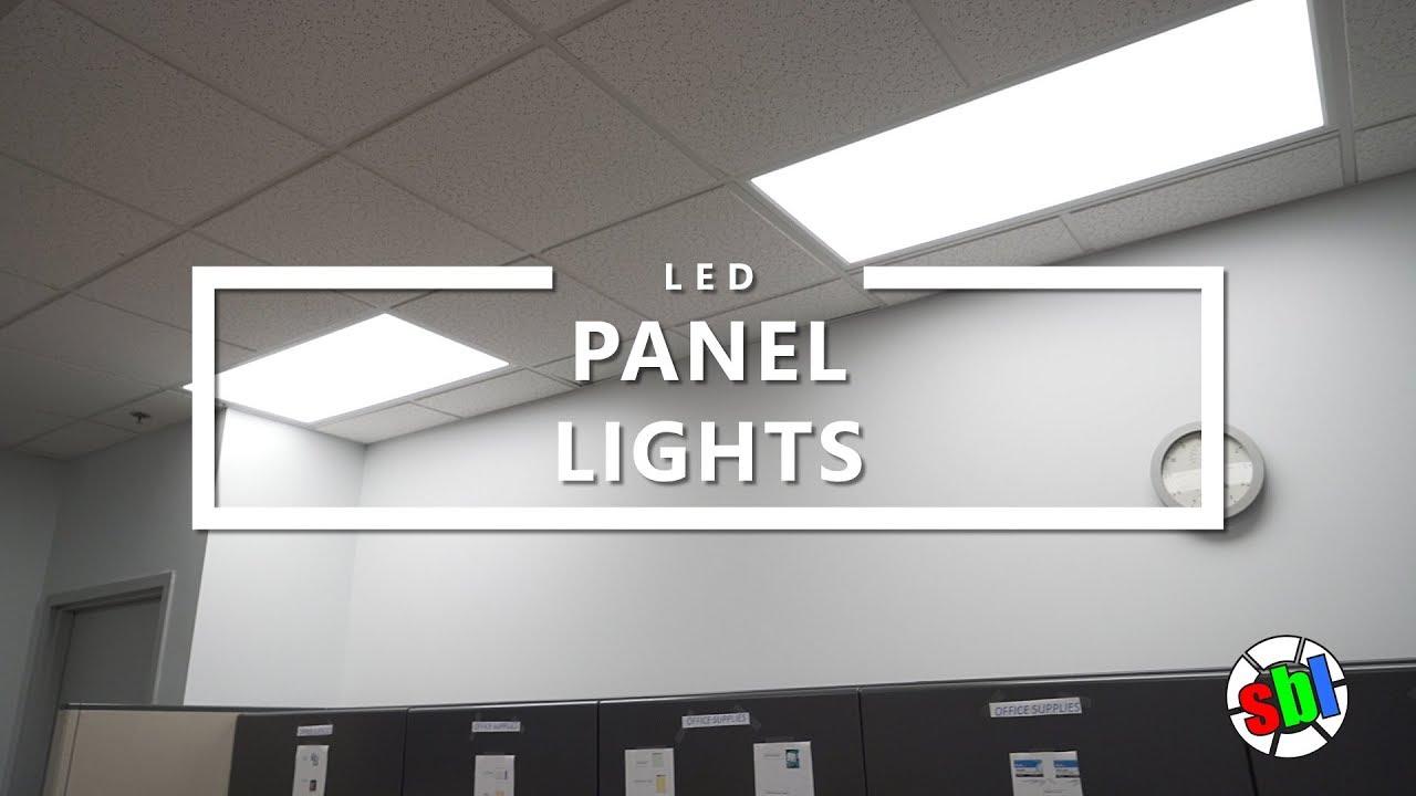 Led Panel Lights Youtube