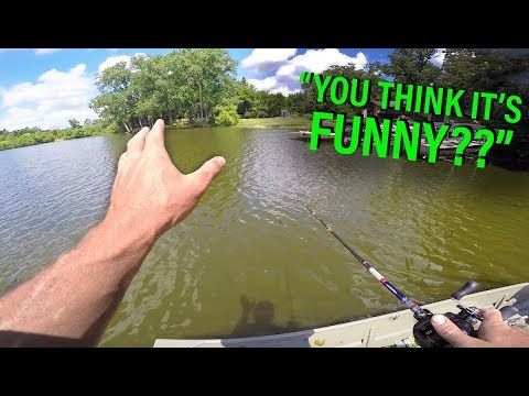 Angry Lady YELLS At Fisherman -- Summer Fishing