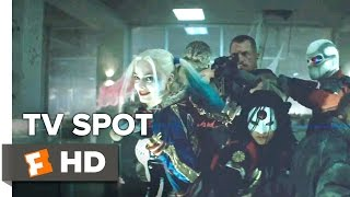 Suicide Squad Extended TV SPOT - Puppet Masters (2016) - Margot Robbie Movie