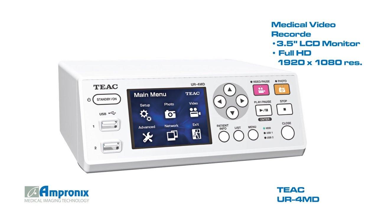 Teac Ur 4md Medical Recorder Sales Service Repair Exchange