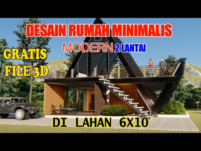 Desain Rumah Minimalis Modern 2 Lantai Bentuk Unik Youtube