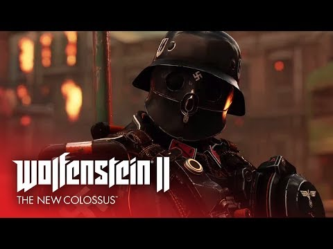 NO MORE NAZIS [New Gameplay Trailer] – Wolfenstein II: The New Colossus