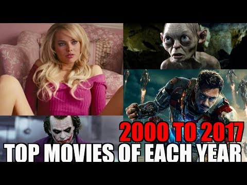 TOP 18 Movies IMDB high rated SINCE 2000 TO 2017 (EACH YEAR's AWESOME)