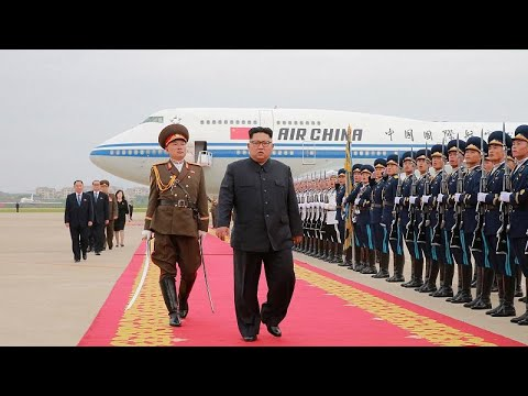 كيم في الصين لإطلاع شي جين بينغ على مضمون الاتفاق النووي مع ترامب…