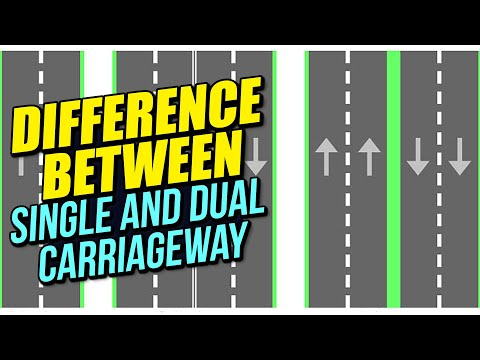 Difference between Single and Dual Carriageway!