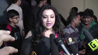 Actress Meena at Gulaebaghavali Premiere Show