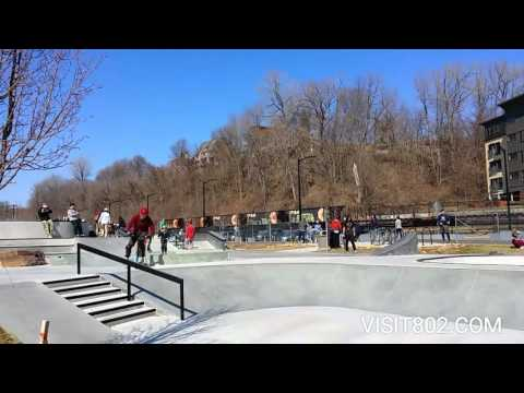 Burlington Skate Park, Vermont