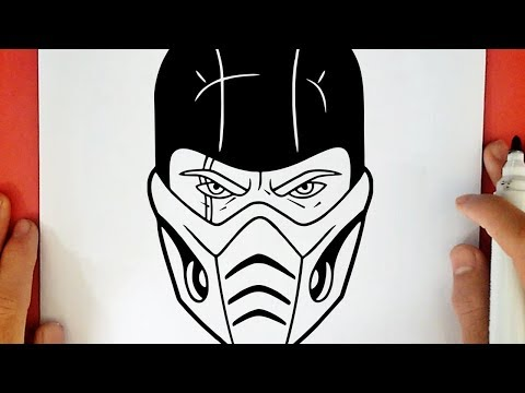 Comment Dessiner Sub Zero Youtube