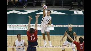 Hawaii Warrior Men's Volleyball 2019 - #4 Hawaii Vs NJIT Highlanders
