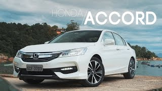Honda Accord 2016 - Teste Webmotors