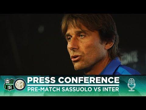 SASSUOLO Vs INTER   Antonio Conte Pre-Match Press Conference LIVE 🎙⚫🔵 [SUB ENG]