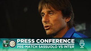 SASSUOLO vs INTER | Antonio Conte Pre-Match Press Conference LIVE 🎙⚫🔵 [SUB ENG]