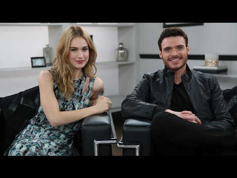Cinderella's Lily James And Richard Madden On Their Weird First Meeting