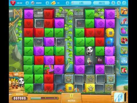 Pet rescue saga pet island 7 level 6 youtube for Pet island level 4