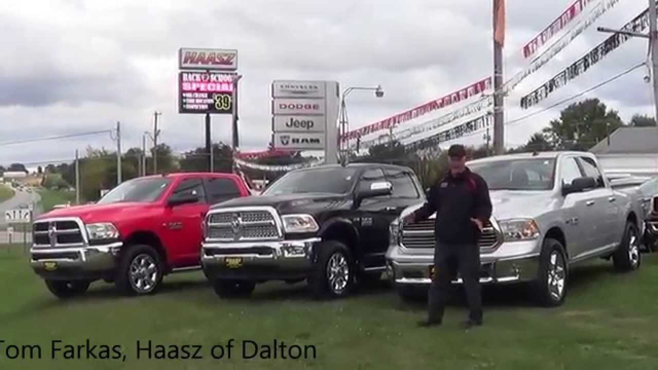 Haasz Automall Of Dalton >> 2016 Ram Truck Lineup Near Massillon Ohio Youtube