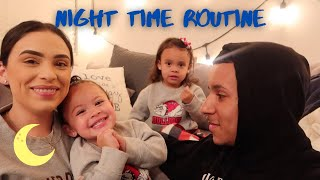 Our Night Routine As A FAMILY OF 4!