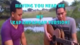 having you near me kapampangan version