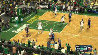 NBA 2k12 Online Gameplay Hawks Vs. Celtics Xbox 360 Full Game HD HQ