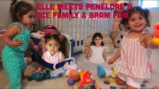 Elle from Ace Family meets Penelope from the BramFam *PART 1*