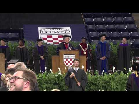 University of Richmond, School of Law Commencement (2018)