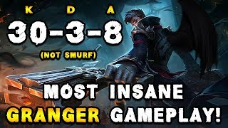 MOST INSANE GRANGER GAMEPLAY - MUST SEE! - MOBILE LEGENDS