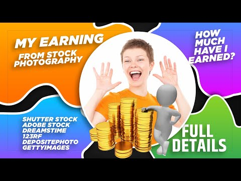 Realistic Income from Stock Photography | Stock-Photography Earning doing it Occasionally